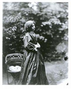Jane Morris, née Burden, a Pre-Raphaelite model
