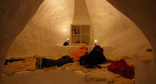 Hotel di ghiaccio  regali 24