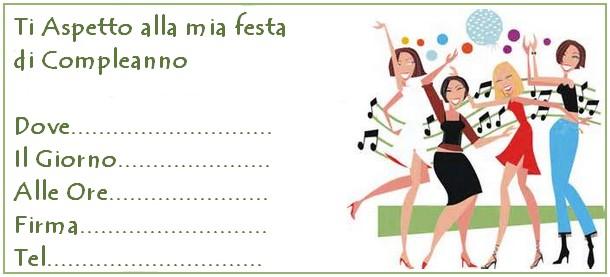 Invito 18 Compleanno  Ragazze in festa  INVITI ON LINE
