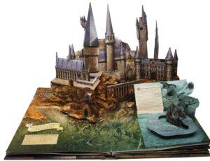 libro pop up hogwarts