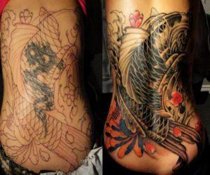 coprire un tatuaggio cover up