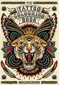 libro tatuaggi da colorare