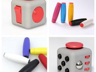 fidget cube e fidget stick erede spinner
