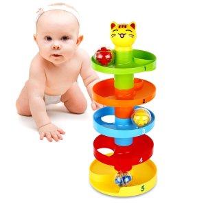 giocattoli per bambini di 1 anno gioco per neonato rampa sfere