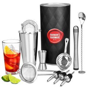 set da cocktail shaker
