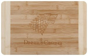 idea regalo cucina tagliere game of thrones