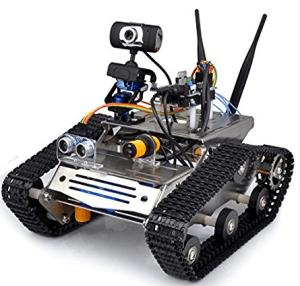 robot con telecamera da programmare