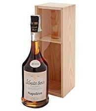 bottiglia liquore invecchiato con cofanetto in legno