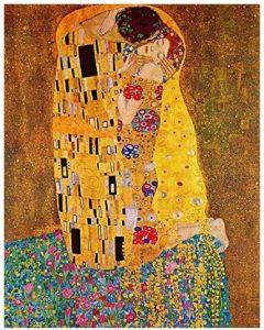 il bacio di klimt riproduzione quadro