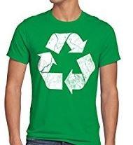 maglietta riciclaggio