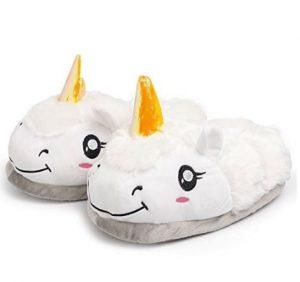 pantofole unicorno regalo per lei spiritosa