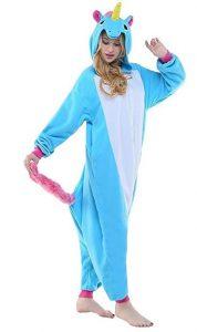 pigiama intero da unicorno