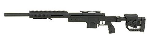 fucile da cecchino softair con calcio estensibile