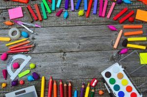 matite pastelli acquerelli e colori