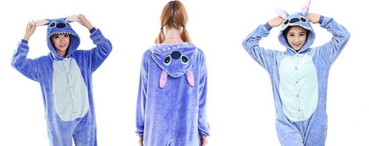 pigiami stitch interi kigurumi