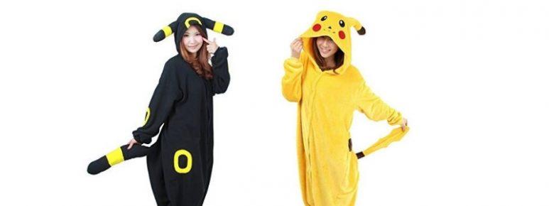 Pigiama pikachu e pigiama umbreon ragazze
