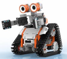robot giocattolo da montare con cingoli