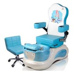 Kids Spa Chair Zen Hanging Mermaid Pedicure High Quality 1 1a