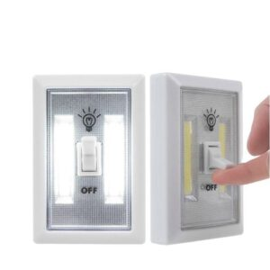luz interruptor armario doble led
