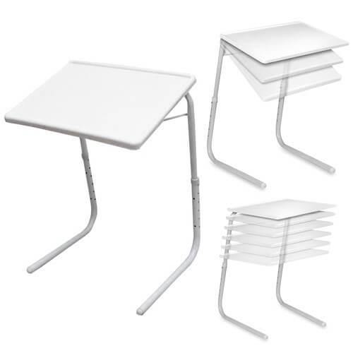 table mate 2 mesa auxiliar plegable multifuncion