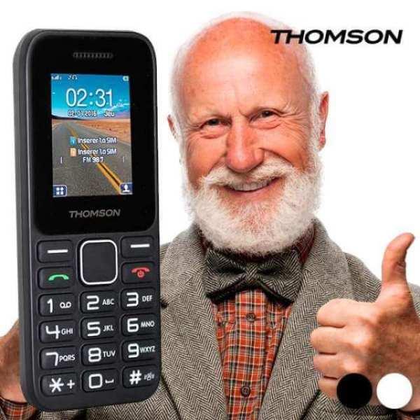 teléfono móvil Thomson T11 ideal para personas mayores