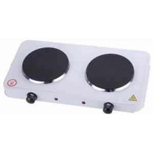 cocina electrica 2 fuegos 2000w hornillo placa