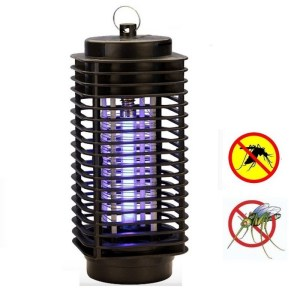 lampara anti mosquitos mata insectos voladores moscas polillas