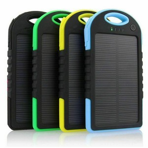 Bateria externa solar power bank