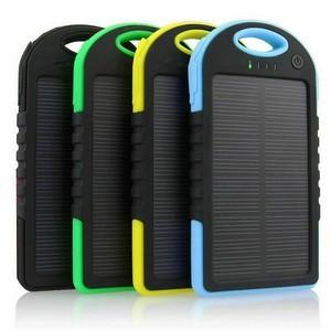 Bateria externa solar power bank