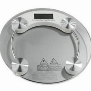 bascula de baño digital balanza peso cristal