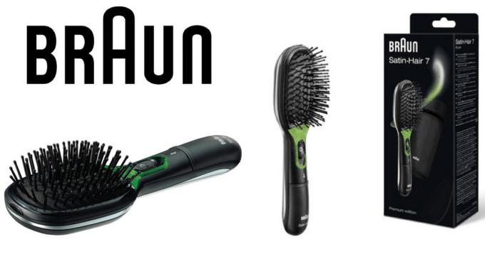 Cepillo iónico alisador Braun Satin Hair 7 BR170 Iontec