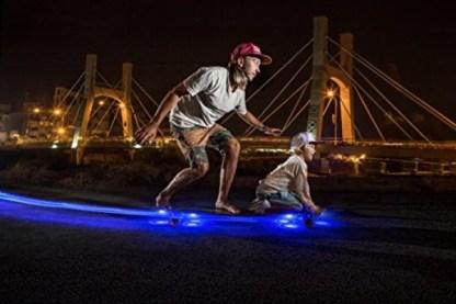 luces led para skate