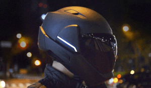 head up display casco moto