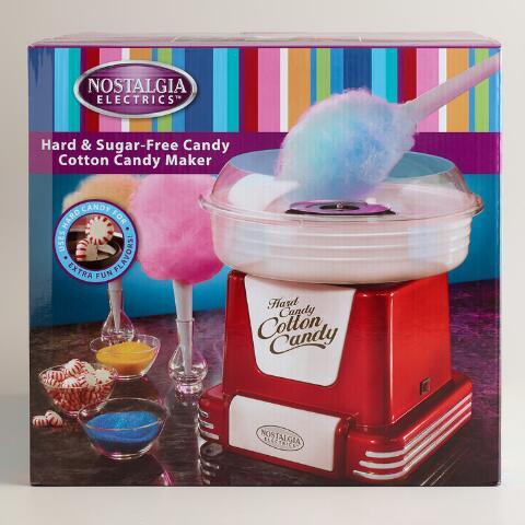 Hard candy cotton maker maquina algodon de azucar con caramelos