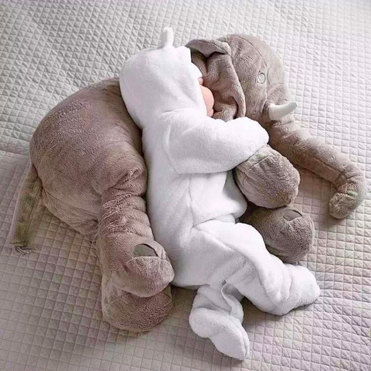 almohada de elefante para bebé