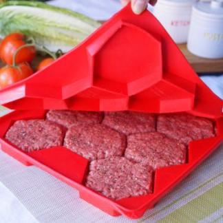 molde para hacer carnes de hamburguesa