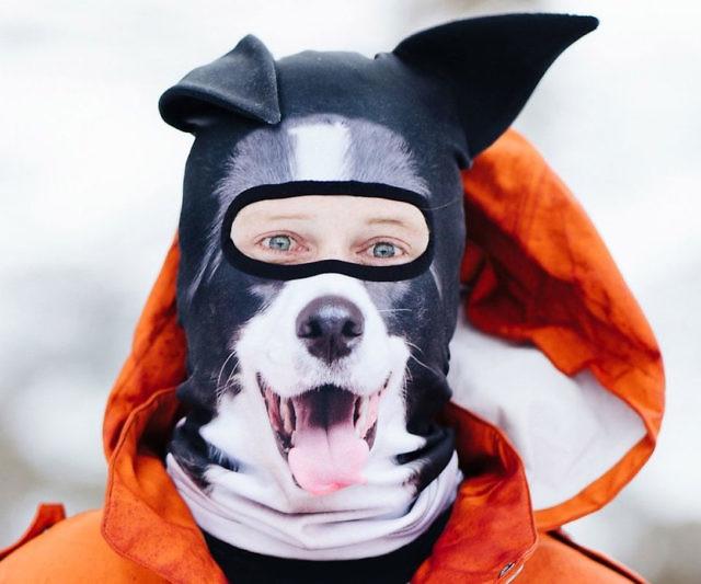Máscaras de animales 3d para deportes de nieve o invierno