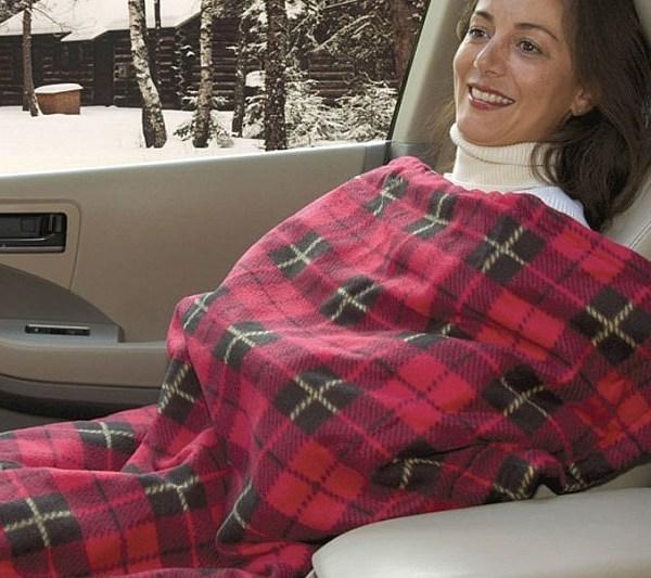 manta eléctrica para viajes con calefacción