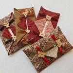 Detalles de boda originales: delicadas fundas para pañuelos de papel