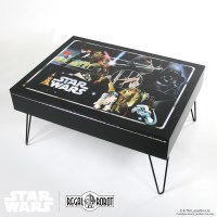 Classic Collector Case Storage Table - Regal Robot
