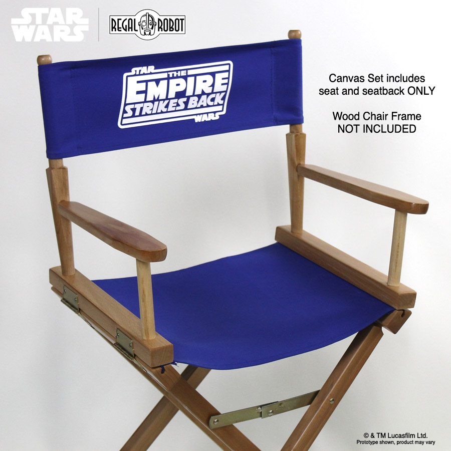 Star Wars Replacement Directors Chair Cover Sets  Regal