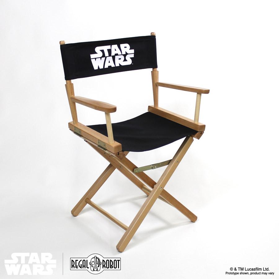 Star Wars Directors Chairs  Regal Robot