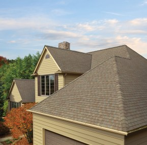 GAF's Timberline American Harvest Amber Wheat shingles