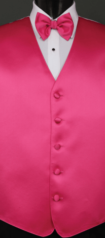 Hot Pink Solid Satin