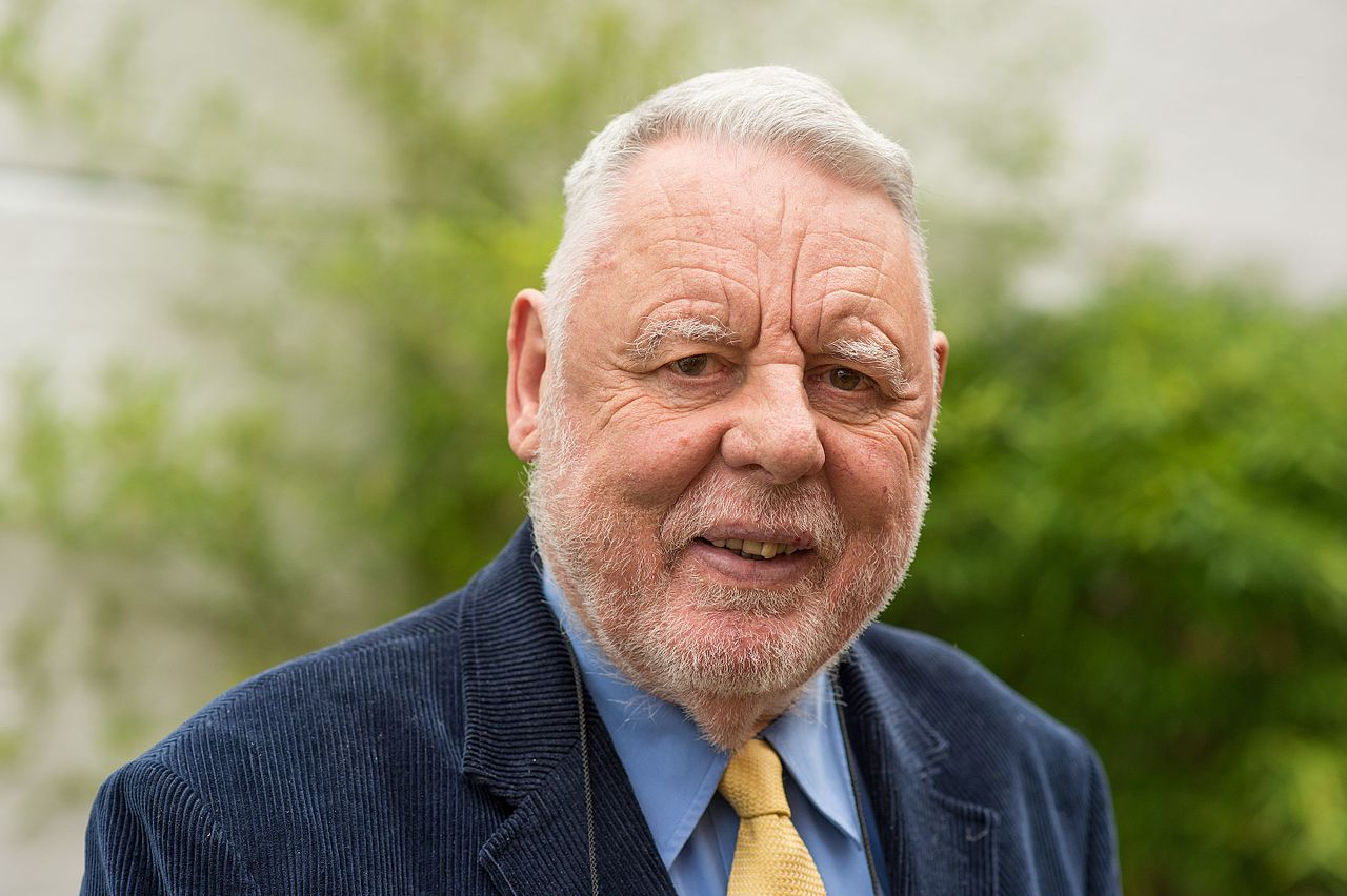 Mayflower 400 speaker Terry Waite by James Gifford-Mead