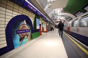 TFL Commercial Partnerships Picardilly Station with Amazon Prime