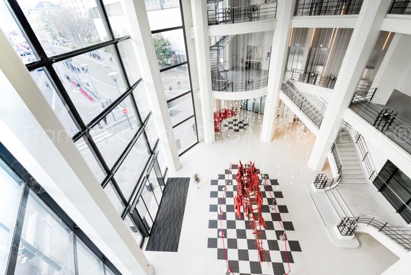 photographie de franck ribard - regard objectif - photographe architecture lyon - Immeuble Citroën Lyon