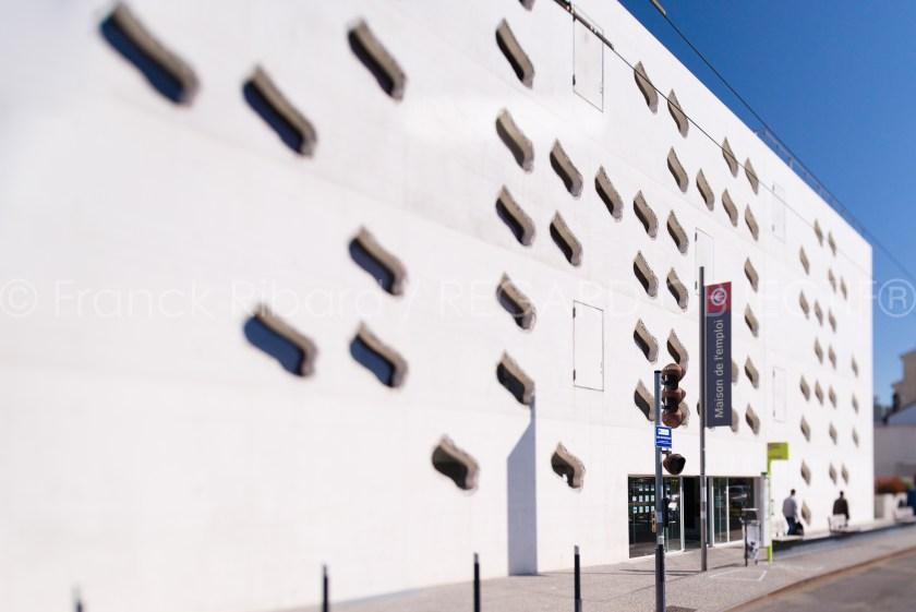 photographie de franck ribard - regard objectif - photographe architecture lyon - Centre pole emploi - St Etienne