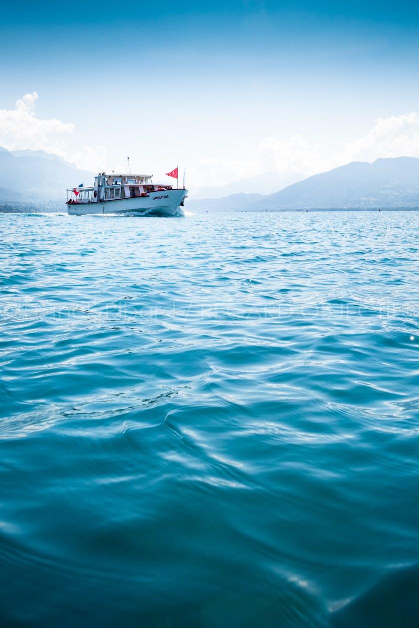 photographie de Franck Ribard - regard objectif - photographe d'illustration à Lyon - La compagnie des bateaux du lac d'Annecy