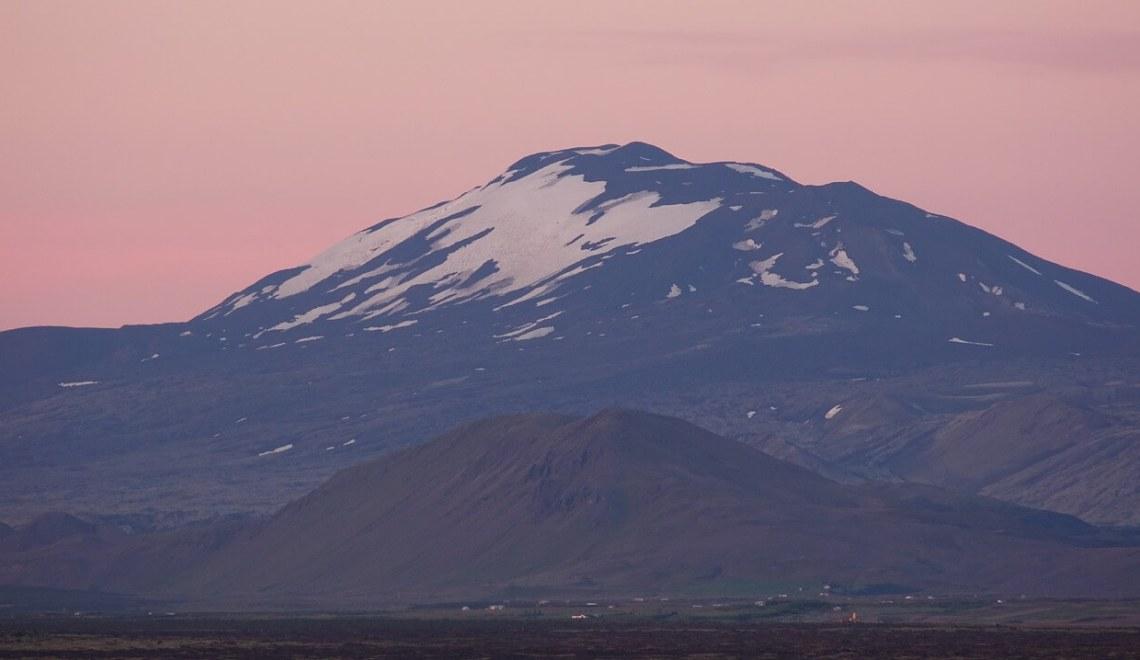 Le volcan Hekla en Islande